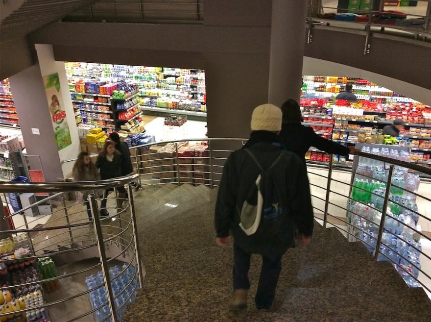 Large underground grocery