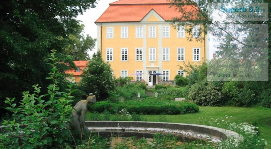 A former nobleman's hunting lodge, north of Berlin