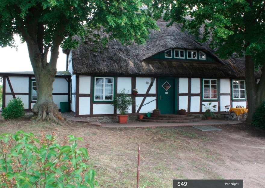 Our cottage in a German National Park