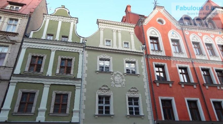 Downtown Poznan (Posen) in western Poland