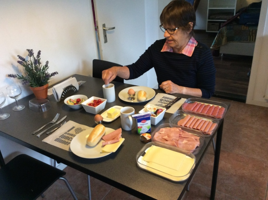 One Dutch breakfast for two.
