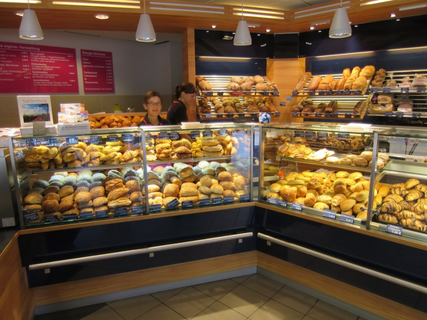 Small local bakery with limited selection