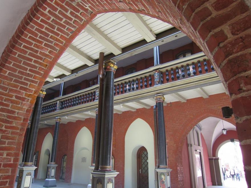 Inside corridor in the city hall