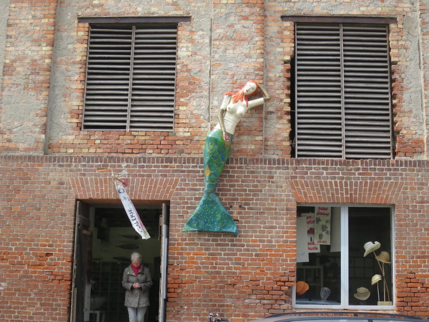 A real mermaid, kinda