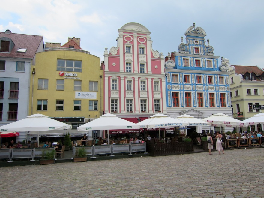 "The ""Renaissance"" side of the market square"