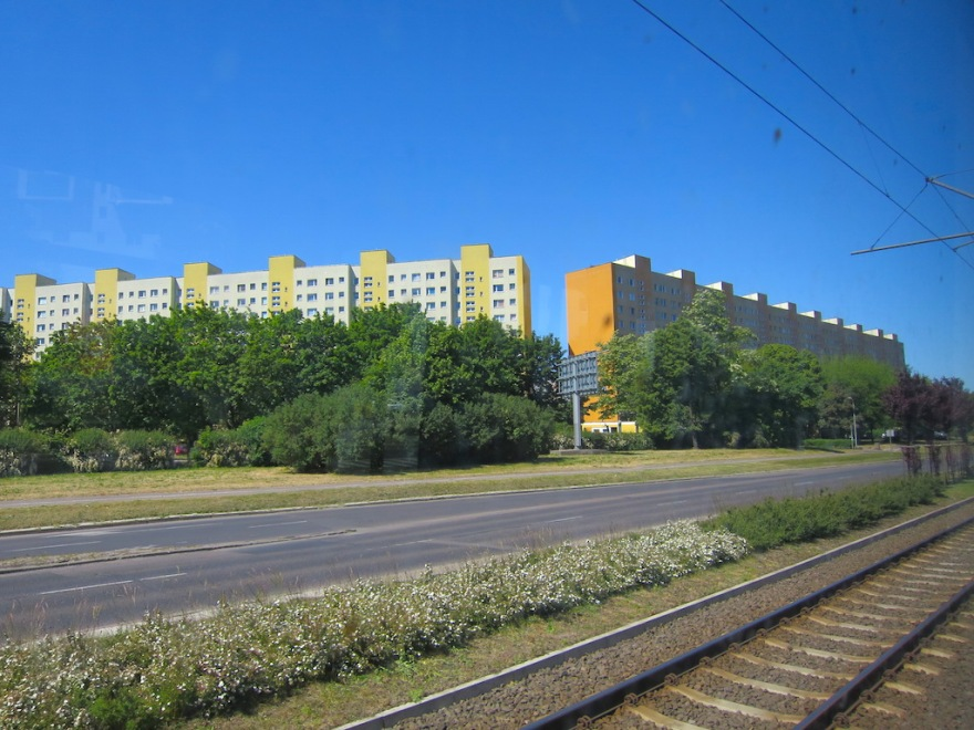 Thousands of these apartments are seen all over Poland and eastern Germany.