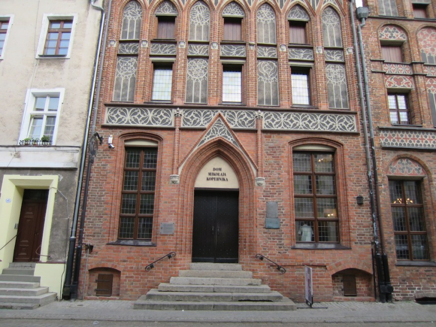Presumed birthplace of Copernicus