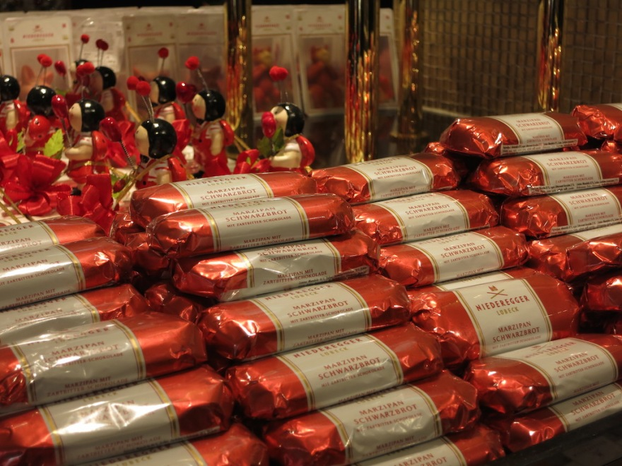 Mountains of the world's best marzipan