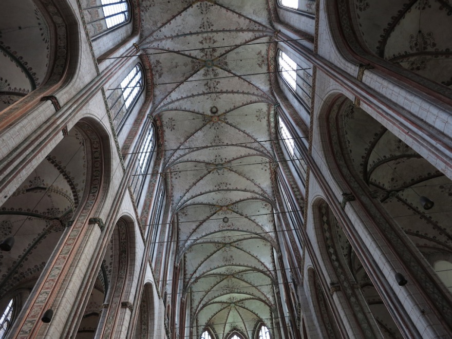 Nave ceiling of the Marienkirche
