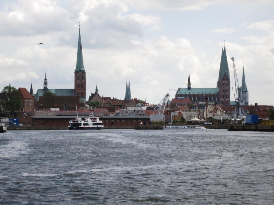 City spires dot the landscape