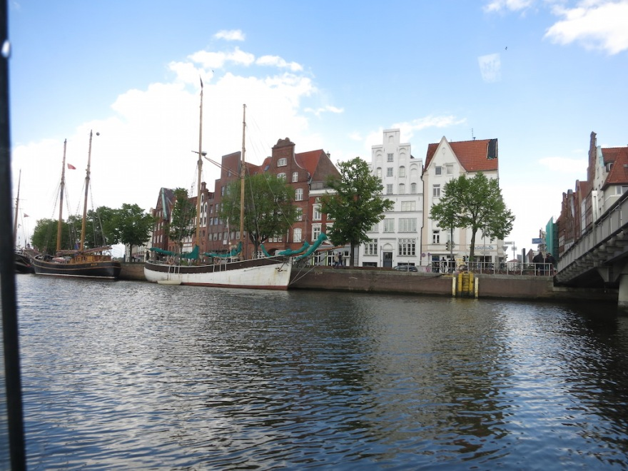 A view along the canal