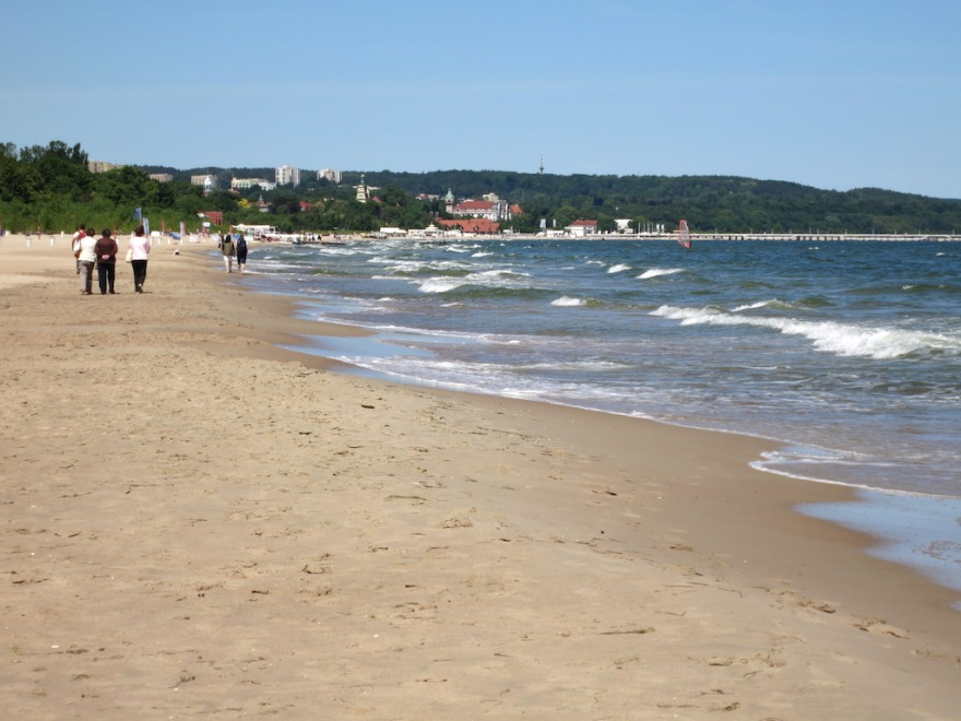 Sopot in the background