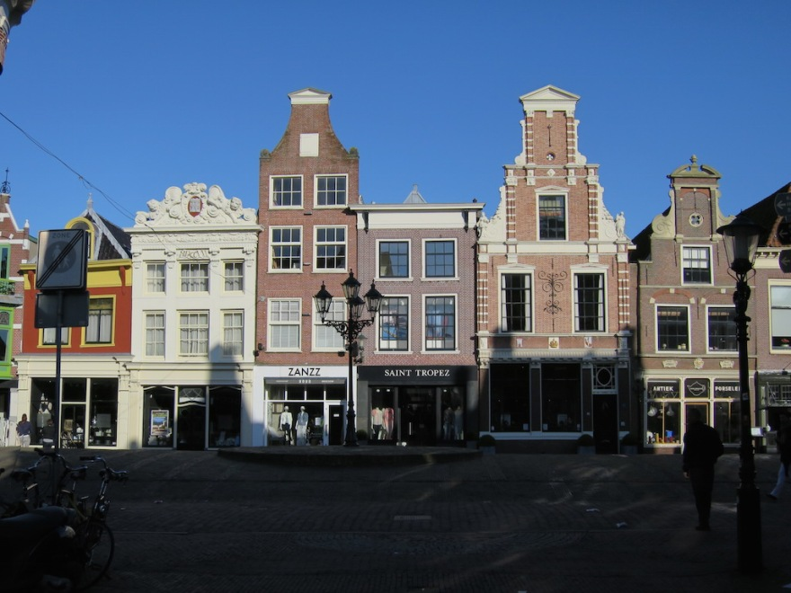 Typical buildings on the market square
