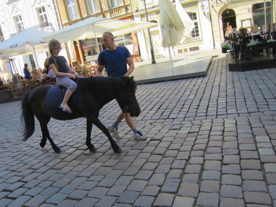 Even a pony ride was offered