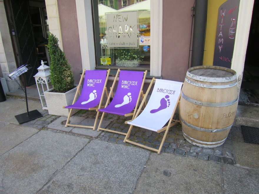 How did these chairs get here - California wine brand by Gallo.