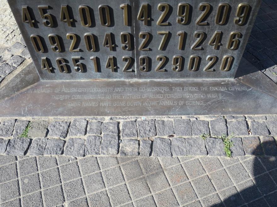 Memorial in English