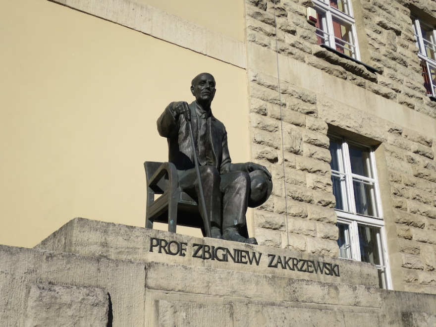 Professor Z. was a leading economist and historian of the city of Poznan.