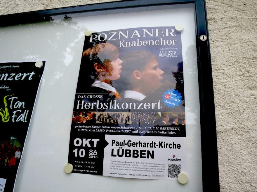 Boys choir from Poznan, Poland