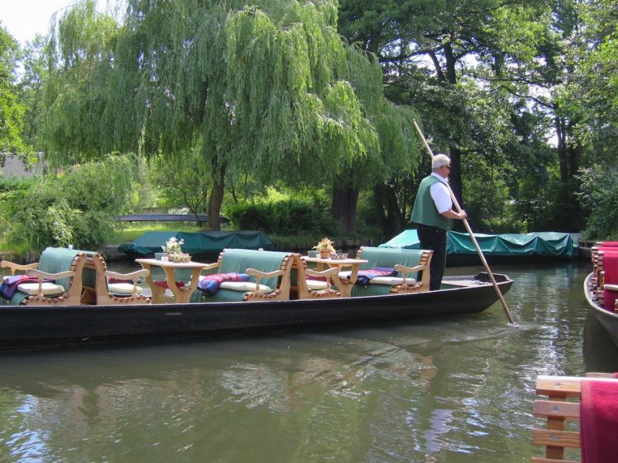 Spreewald canal boat