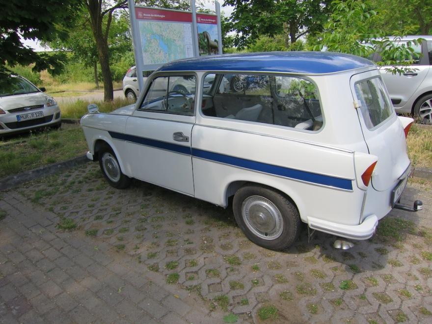 Fully restored Trabant