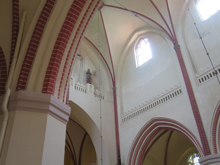 Inside restored