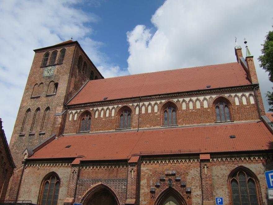 a fine brick church