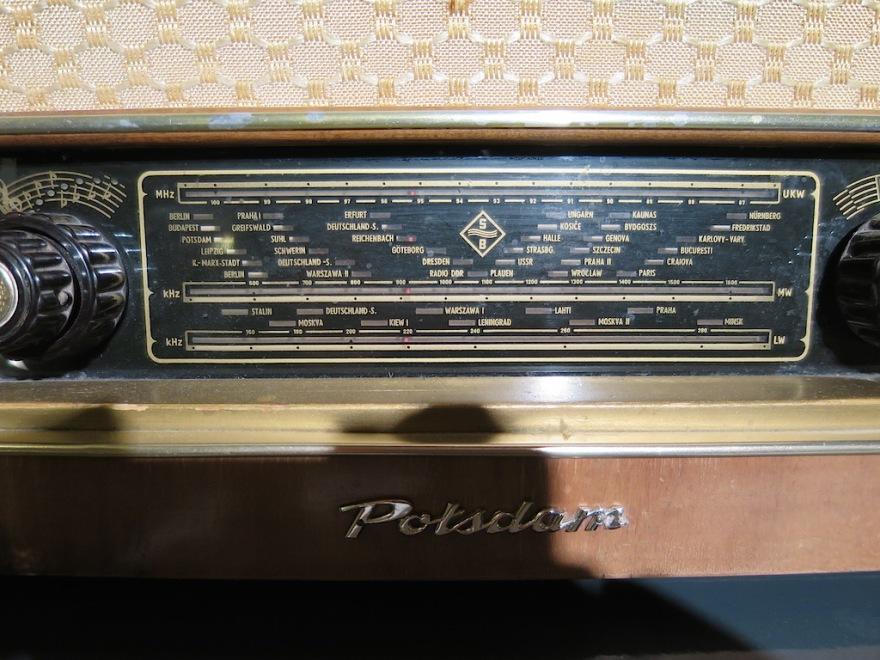 Radio from communist days