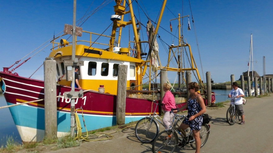 Hooge's last shrimp trawler