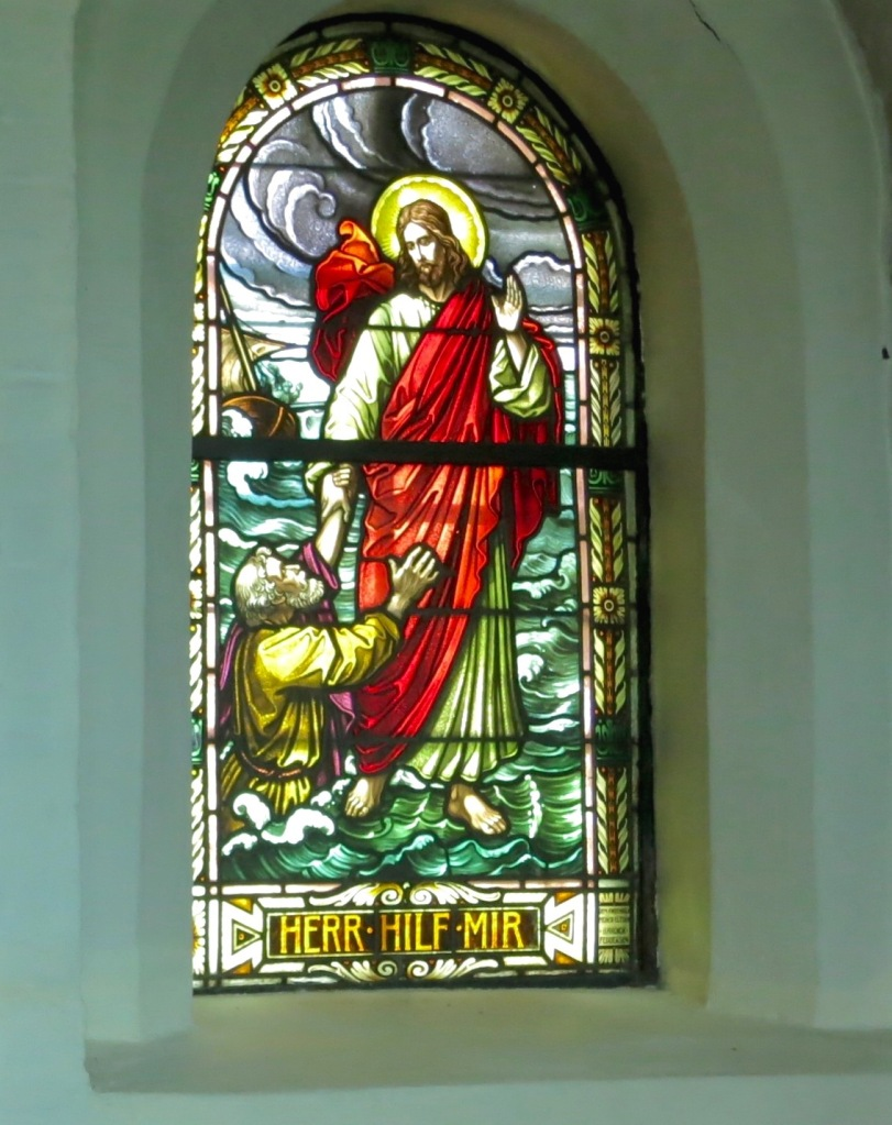 One of the windows