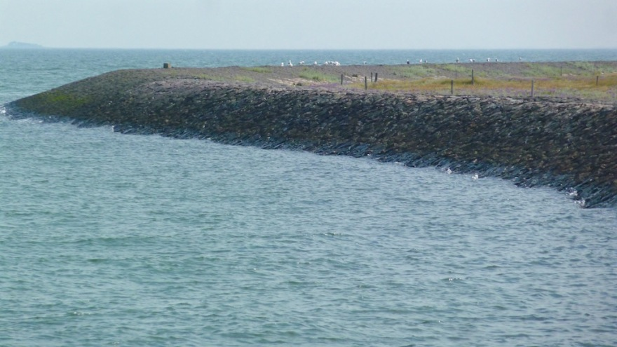The northwest corner of the Hallig