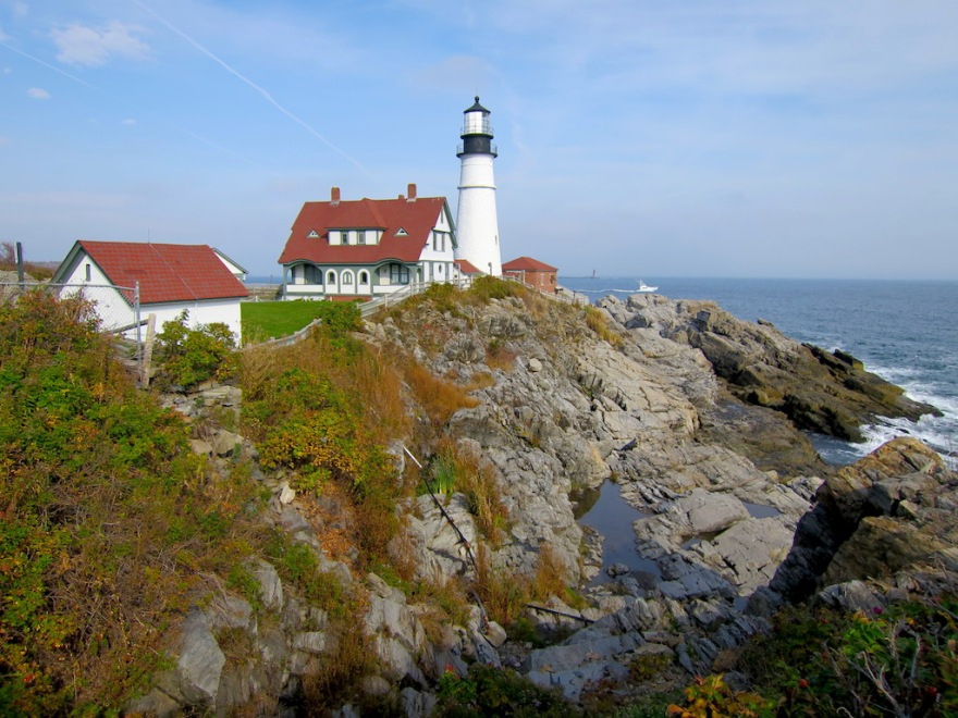 Portland Head Light - the more scenic view