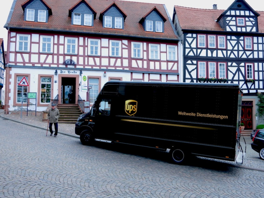 UPS in Germany