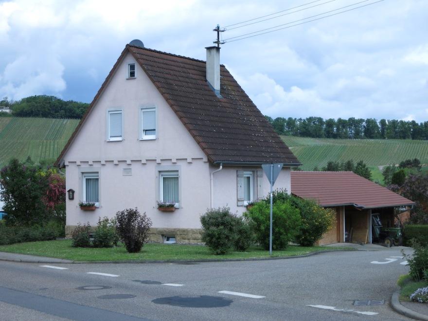 Typical 20th century farmhouse