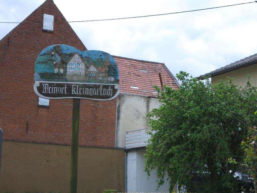 Kleingartach is a Weinort, or wine village.