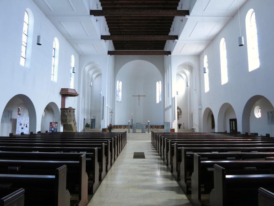 St. Urbanus Church, named for patron saint of the wine growers.