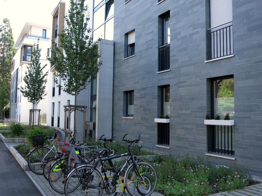 Modern exterior treatment
