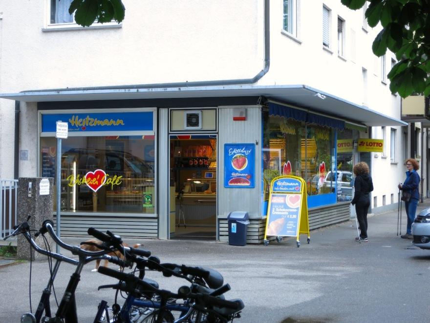 The corner bakery