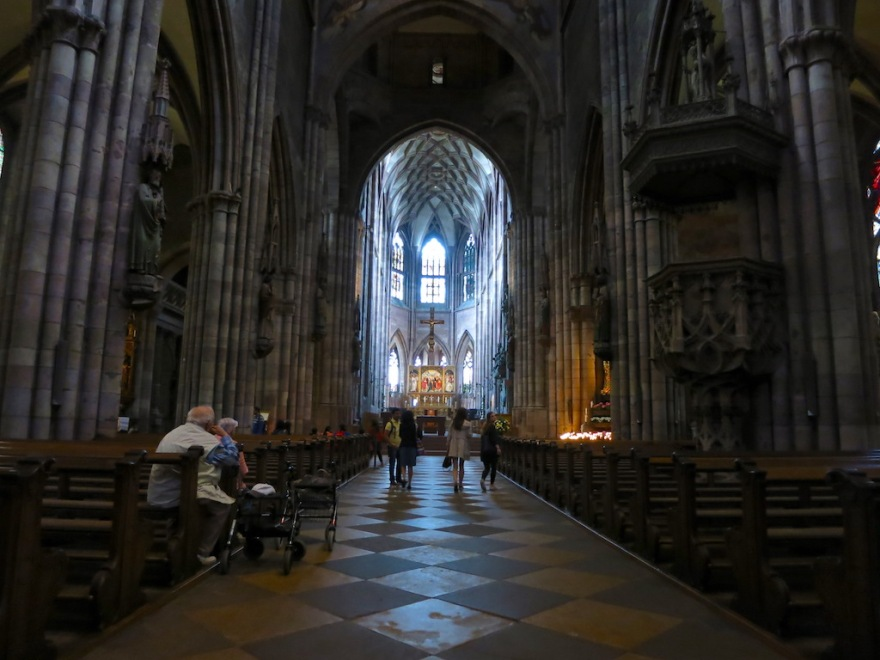 Interior of the Münster