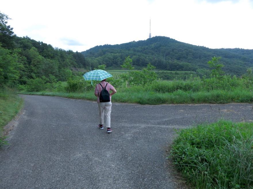 Eva was prepared for rain.