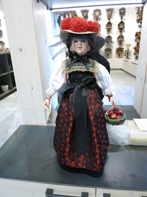 A doll in local costume