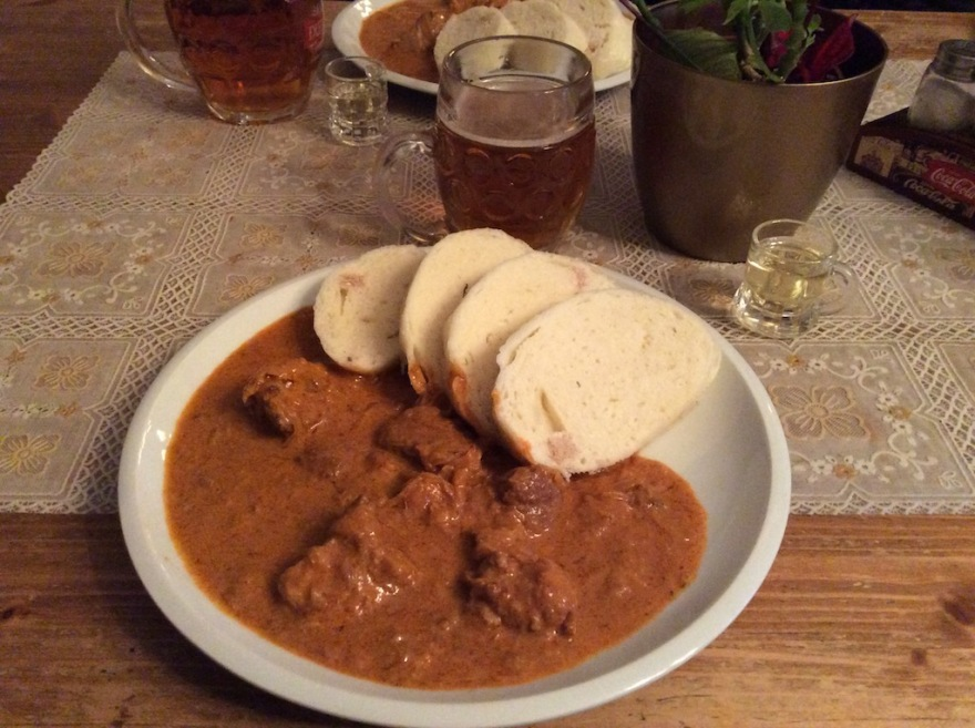 It's goulash again
