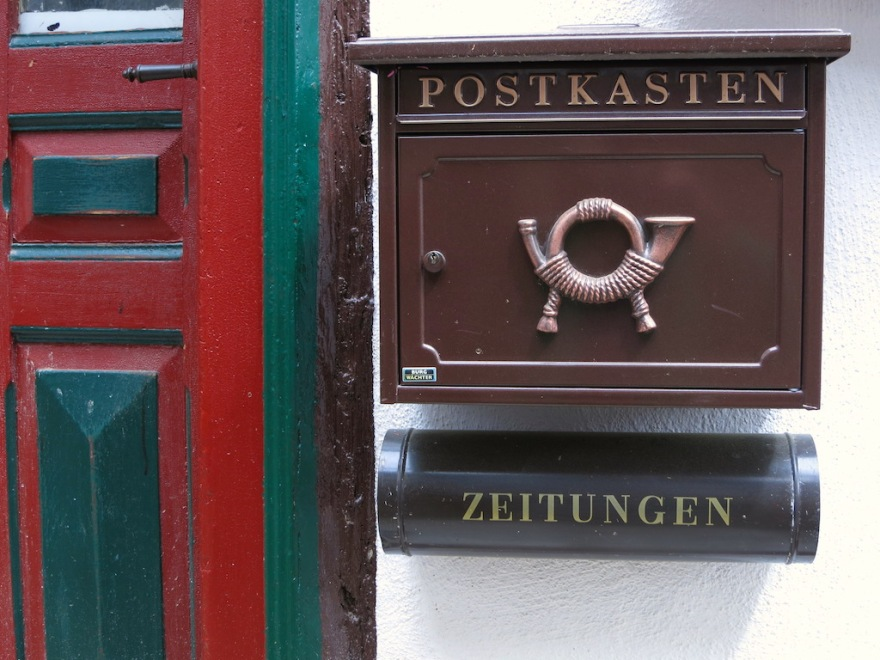 Typical german mailbox