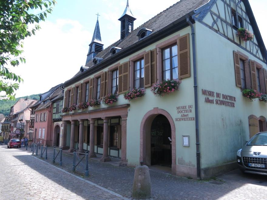 Albert Schweitzer's birth place