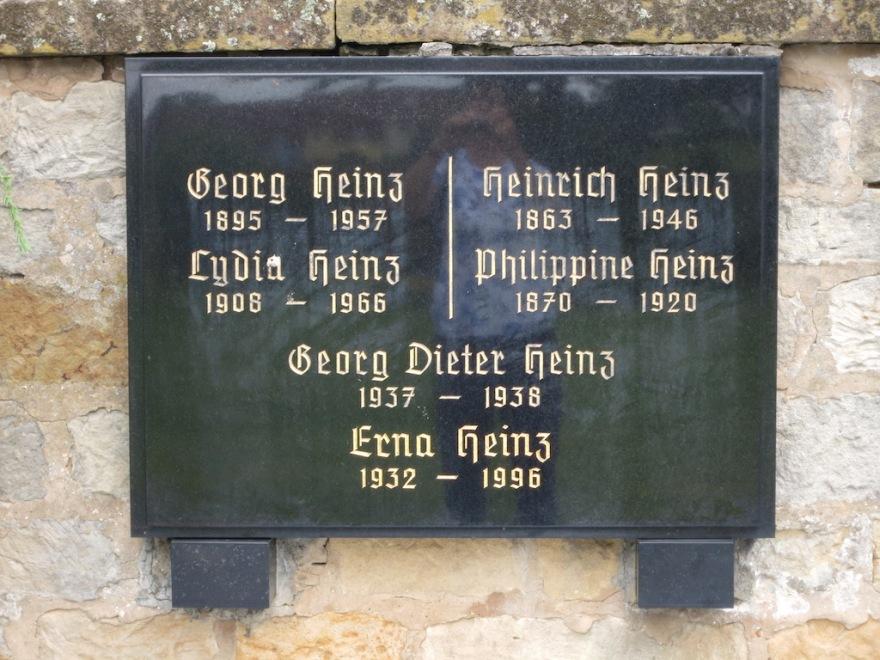 A Heinz family grave site