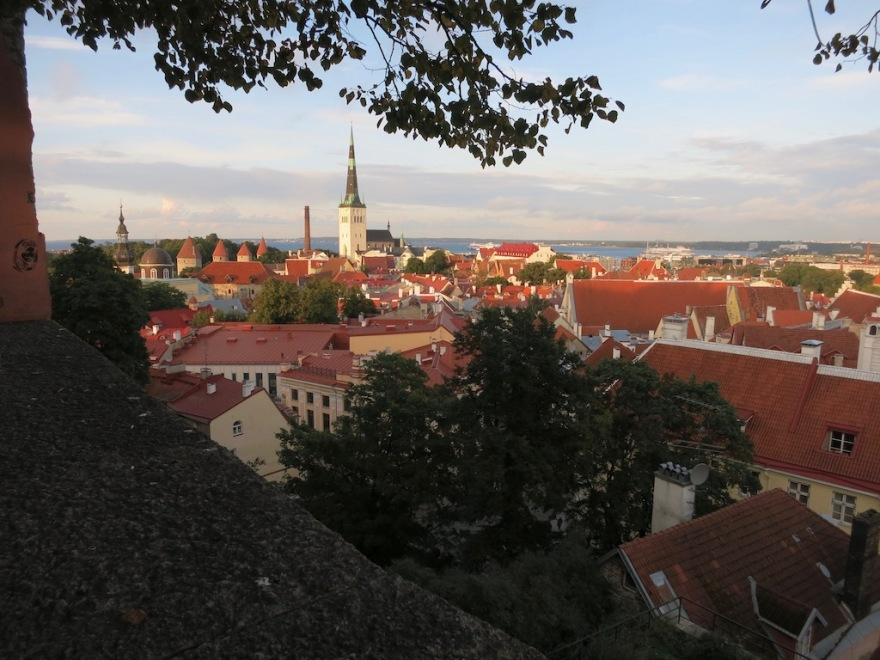Tallinn, city view from Toompea Castle