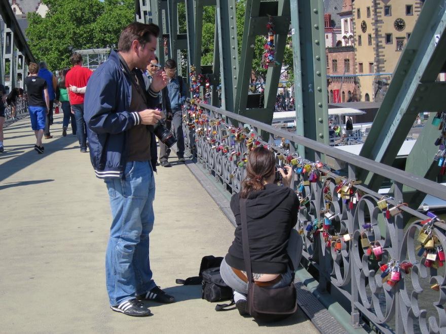 Locks attract admirers